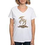 Dragon a Day Women's V-Neck T-Shirt