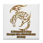 Dragon a Day Tile Coaster