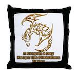Dragon a Day Throw Pillow