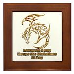 Dragon a Day Framed Tile