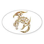 Dragon a Day Sticker (Oval 10 pk)