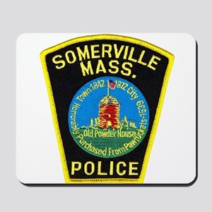 Somerville Mass Police Mousepad