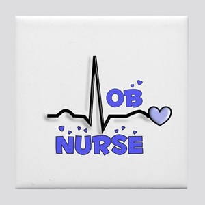 Registered Nurse Specialties Tile Coaster