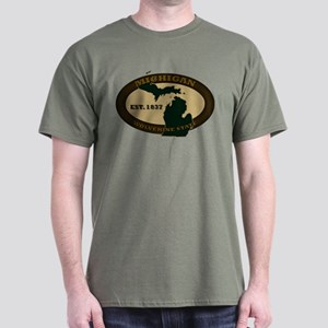 Michigan Est. 1837 Dark T-Shirt