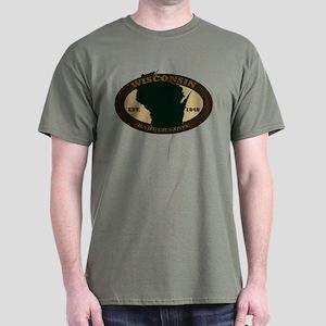 Wisconin Est. 1848 Dark T-Shirt