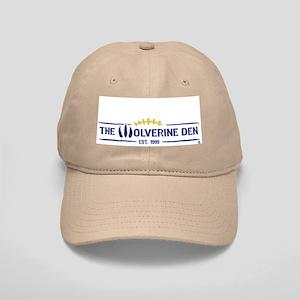 The Wolverine Den Hat Khaki/White