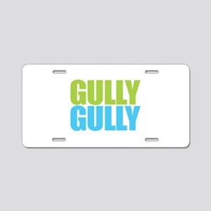 Gully Gully Aluminum License Plate