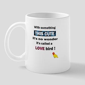 Cute Lovebird Mug
