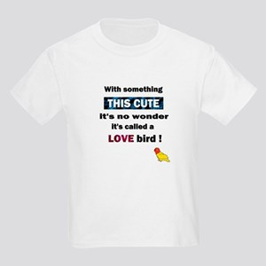 Cute Lovebird Kids T-Shirt
