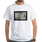 Mist-Shrouded Inn White T-Shirt