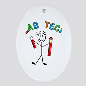 Stick People Occupations Ornament (Oval)
