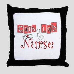 Registered Nurse Specialties Throw Pillow