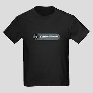 Put on a shirt Kids Dark T-Shirt