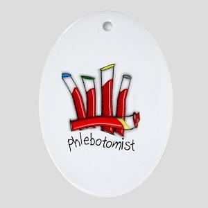 phlebotomist III Ornament (Oval)