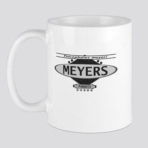 Stylish Meyers Parrot Mug