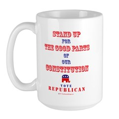 Vote Republican Large Mug