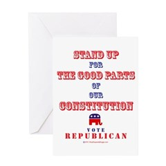 Vote Republican Greeting Card