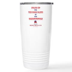 Vote Republican Stainless Steel Travel Mug