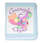 Guangde China baby blanket