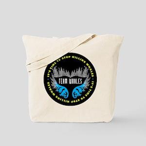 Team Whales Tote Bag