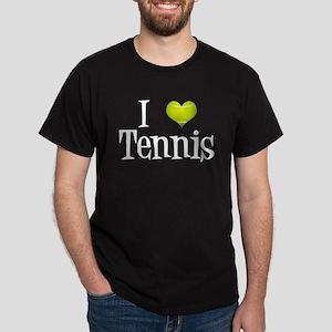 I Heart Tennis Dark T-Shirt