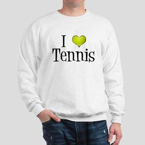 I Heart Tennis Sweatshirt