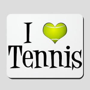 I Heart Tennis Mousepad