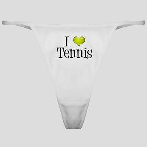 I Heart Tennis Classic Thong