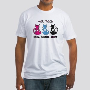 Vet Technician Fitted T-Shirt