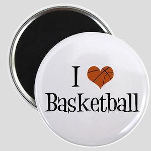 I Heart Basketball Magnet