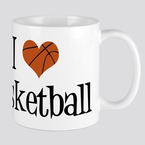 I Heart Basketball Mug