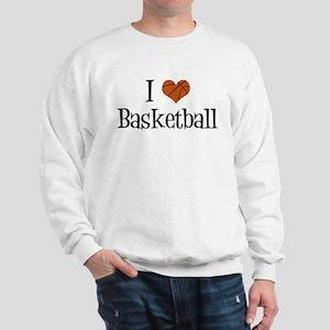 I Heart Basketball Sweatshirt