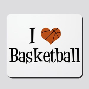 I Heart Basketball Mousepad