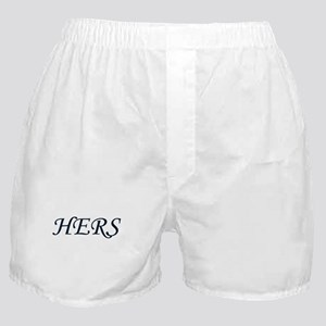 His / Hers Boxer Shorts