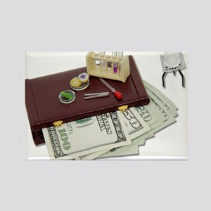 Business Research Funds Rectangle Magnet