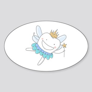 Tooth Fairy - Sticker (Oval)