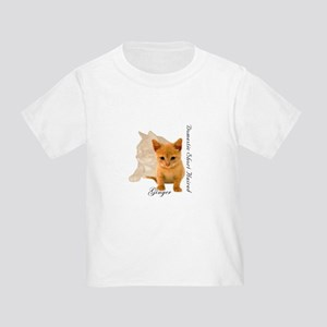 Ginger Cat Kitten Toddler T-Shirt