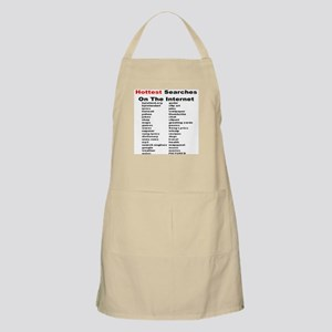 Hottest Searches On The Internet Apron