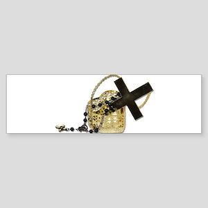Cross Old Sticker (Bumper)