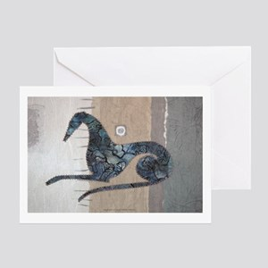 Brindle Beauty Greeting Card