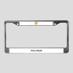 PKU MOM License Plate Frame