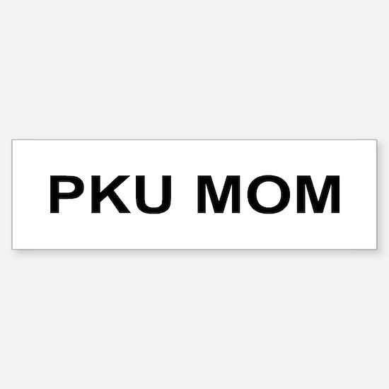 PKU MOM Bumper Bumper Bumper Sticker