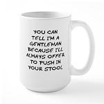 Gentleman Large Mug
