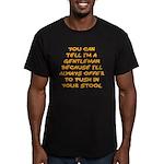 Gentleman Men's Fitted T-Shirt (dark)