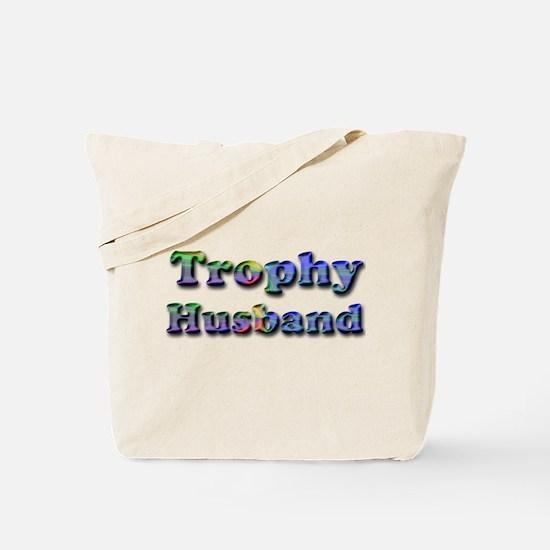 Funny Trophy husband Tote Bag