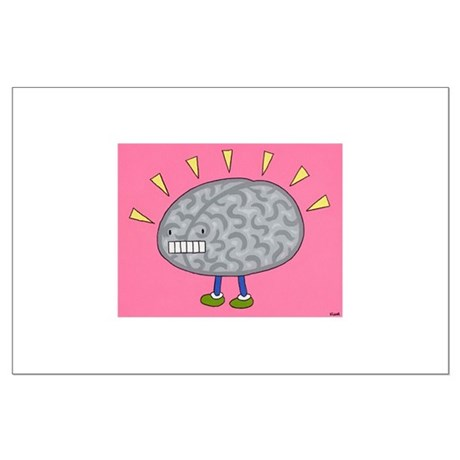 Brain on Parade Large Poster