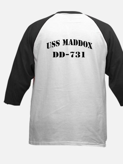 USS MADDOX Kids Baseball Jersey