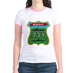 USS MADDOX Jr. Ringer T-Shirt