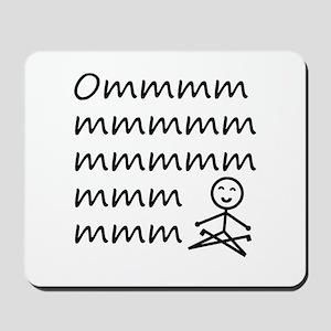 Yoga Shirt Mousepad