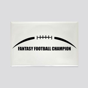 Fantasy Football Champion Rectangle Magnet